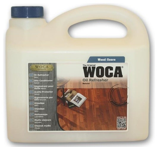 Woca Oil Refresher Natural 2 5 Liter Traditional