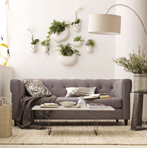 Superbe Chester Tufted Upholstered Sofa   Contemporary   New York ...