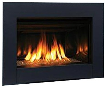 Superior Dv Contemporary Natural Gas Fireplace Insert With Electronic Ignition.