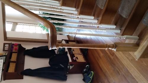 Wood Steps Coming Apart And Railing Falling Apart