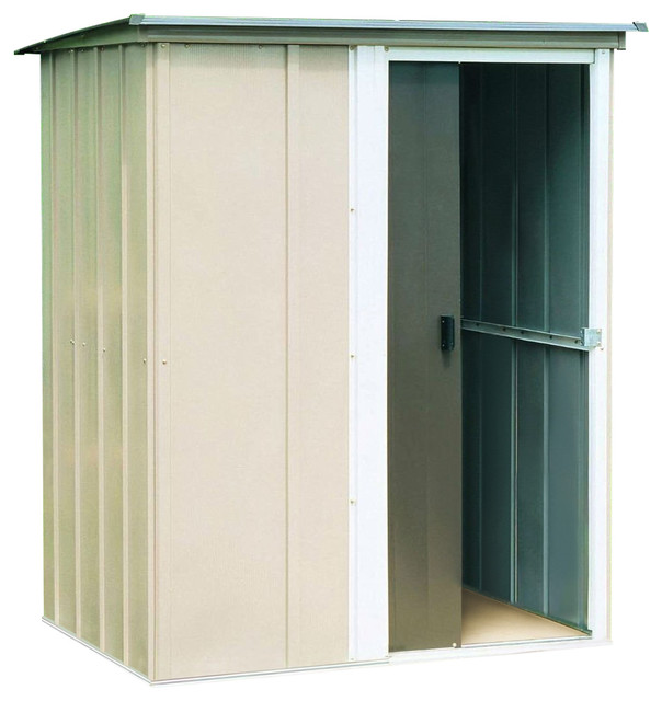 Charmant Outdoor Lawn Garden Tool Storage Shed   4 Ft X 5 Ft