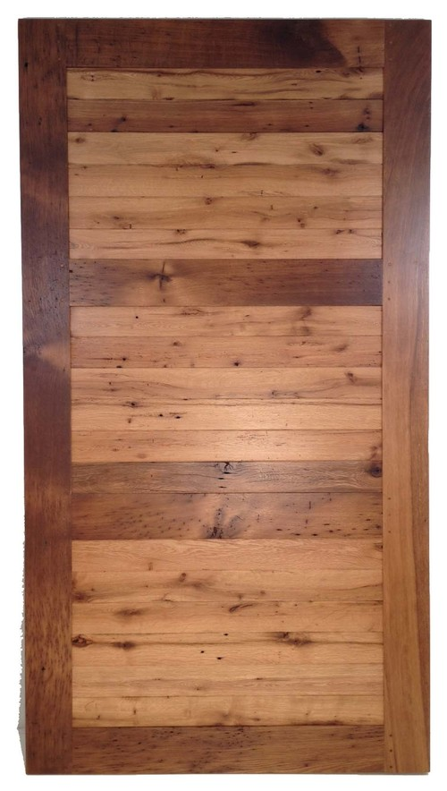 White Oak Barn Door