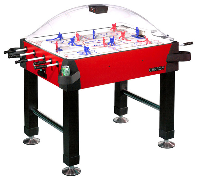 Bubble Dome Stick Hockey Table Contemporary Game Tables