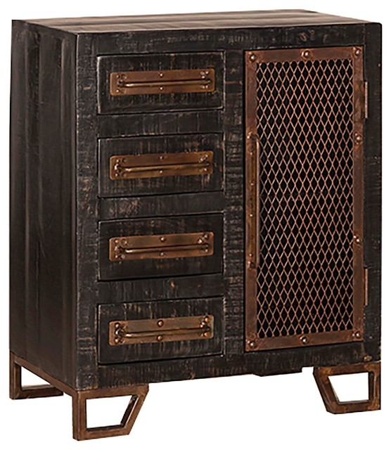 Bridgewater Cabinet - Industrial - Accent Chests And Cabinets - by Hillsdale Furniture