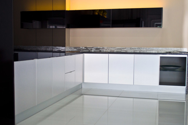 Aluminum kitchen cabinets modern miami by aluniq for Kitchen set aluminium modern