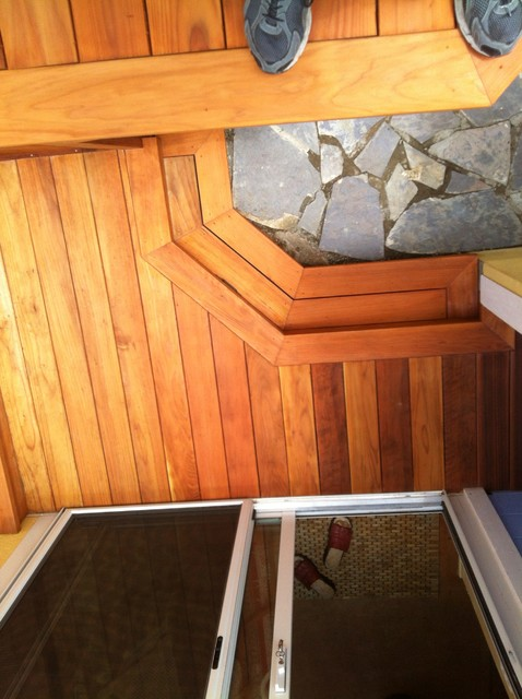 Redwood deck oakland ca for Passarelli custom homes