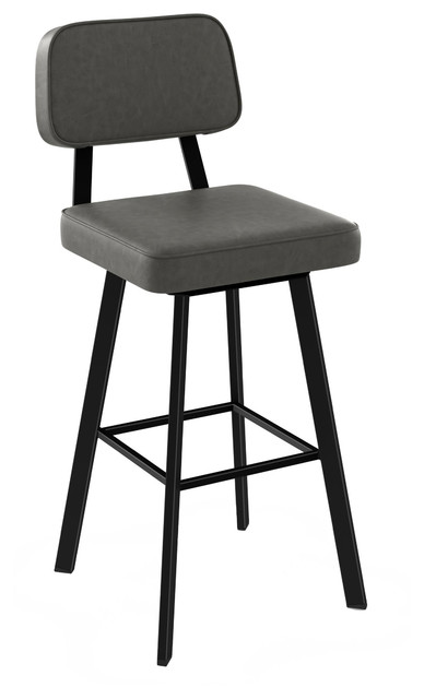 Brilliant Clarkson Swivel Metal Stool Counter Height Machost Co Dining Chair Design Ideas Machostcouk
