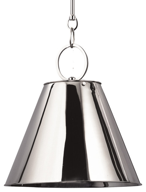 Altamont Pendant In Polished Nickel By Hudson Valley Lighting Historic