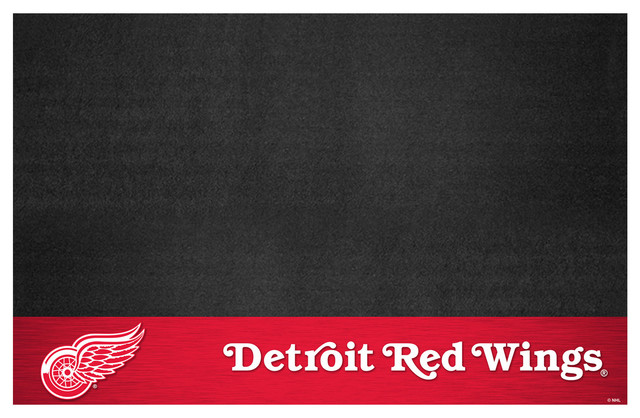 Nhl Detroit Red Wings Grill Mat 26x42.