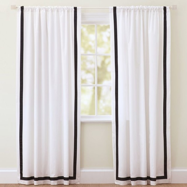 Black And White Contemporary Curtains - Best Curtains 2017