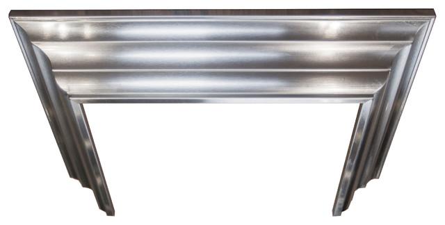 "Zline Crown Molding Profile 6 For Wall Mount Range Hood, 9.2""x8""."