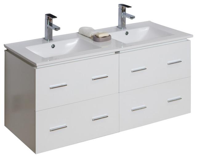 vanity base only white 46 x17 modern bathroom vanities and s