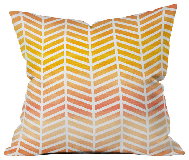 Rebecca Allen Sunset Bliss Outdoor Throw Pillow
