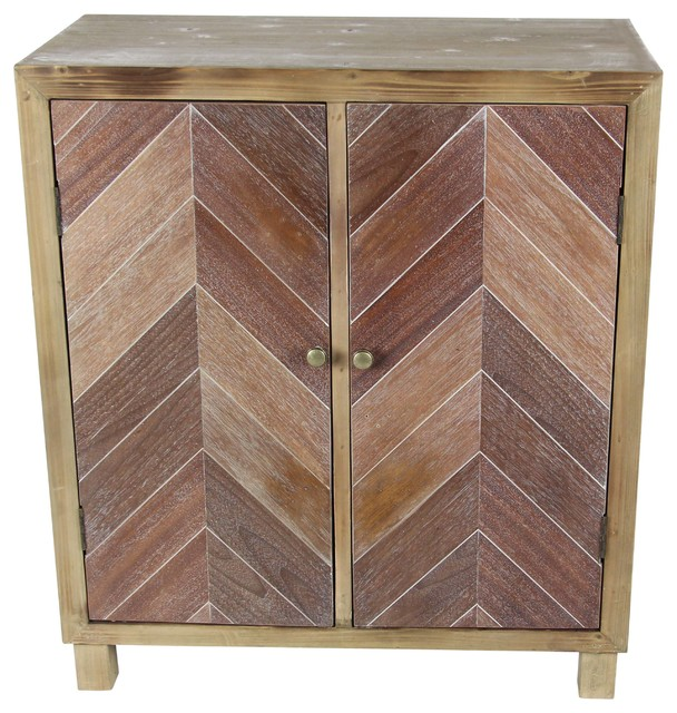 """GwG Outlet Wooden Cabinet, 30""""x34"""" - Contemporary - China Cabinets And Hutches - by GwG Outlet"""
