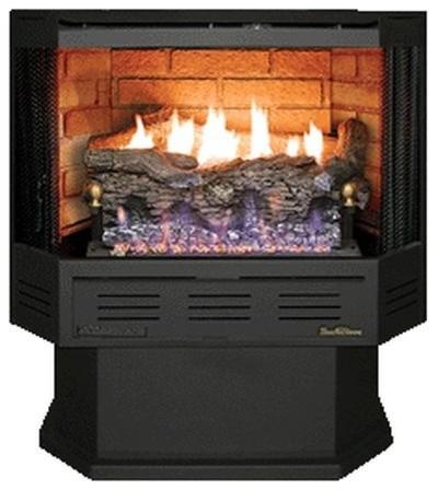Buck Stove Nv-C329b3-Ng Thermostatic Vent Free Gas Stove - Natural Gas.