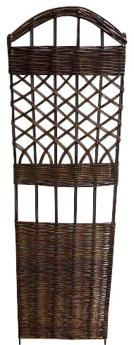 Woven Willow Lattice Trellis, 18w X 60h.
