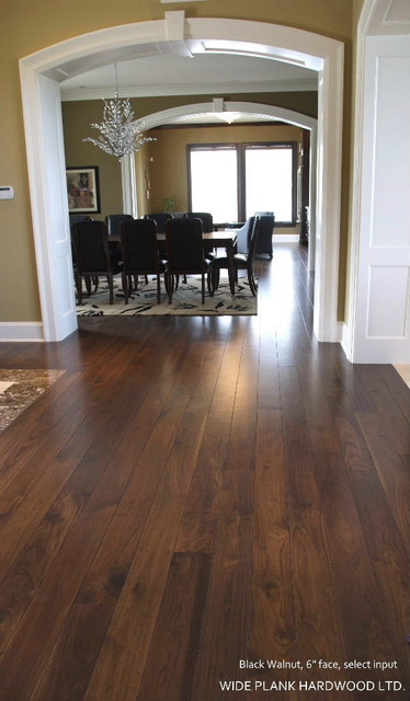 Black Walnut Modern Hardwood Flooring Vancouver By