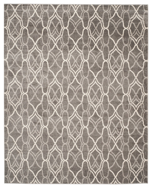 Safavieh Palma Rug, Gray And Light Gray, 10&x27;x14&x27;.