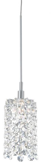 Schonbek Lighting Re0205a Refrax Silver Mini Pendant.