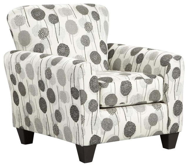 Corliss Antique French Style Grey Linen Accent Chair Bright Home