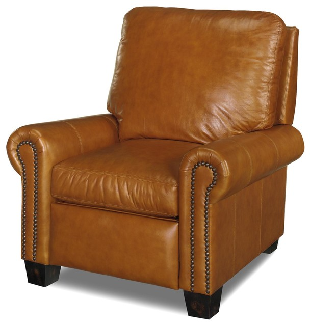 Leather Recliner Chair Classic Style