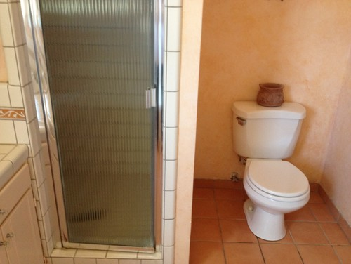 new bathroom vanity and tile vs pedestal sink and wainscoting, Home decor