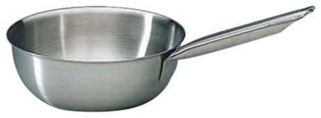 """Matfer Bourgeat Tradition 9.5"""" Flared Saute Pan."""