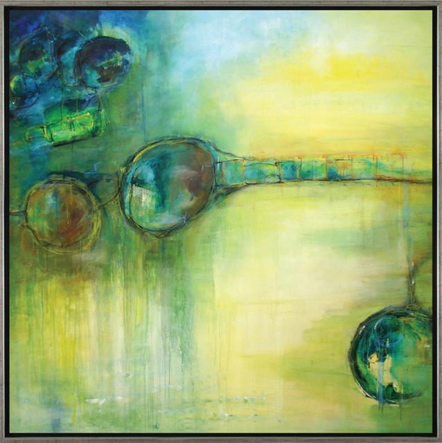"""Ball 3""  - Large Modern Artwork"