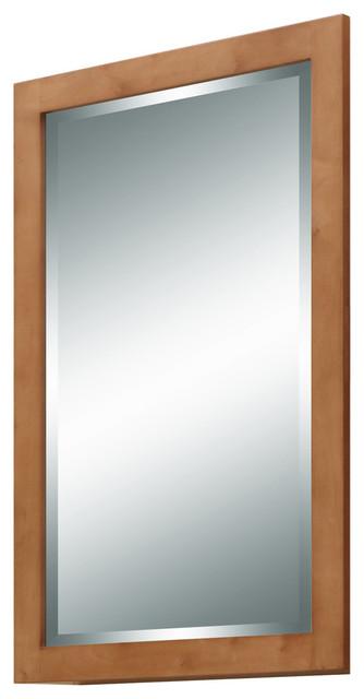 Lincoln Street Mirror, Light Maple.