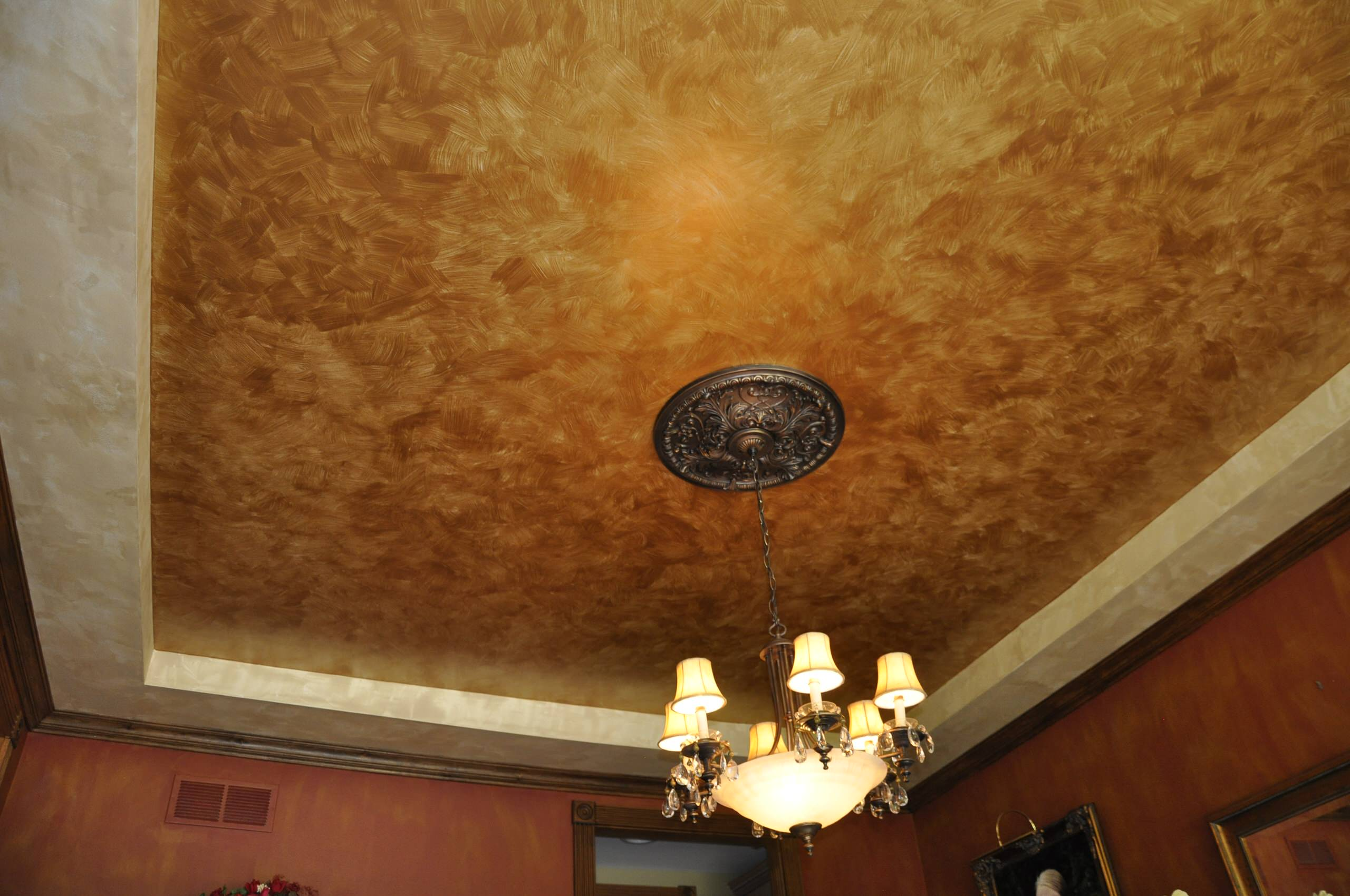 Ceiling and Wall Faux Techniques
