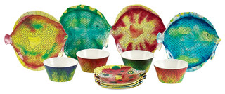 Swimmingly Dinnerware Set - Tropical - Dinnerware Sets - by Encore Concepts  sc 1 st  Houzz & Swimmingly Dinnerware Set - Tropical - Dinnerware Sets - by Encore ...