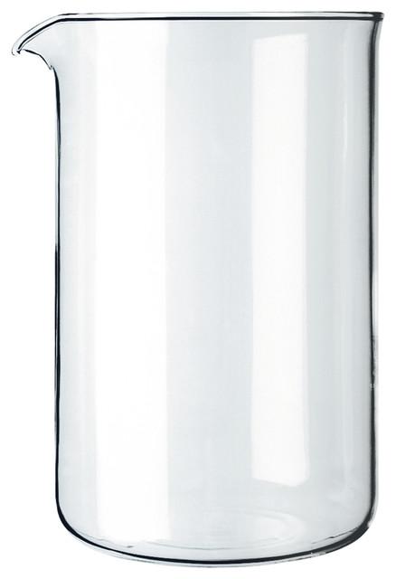 Bodum Spare Beaker Spare Glass, 3 Cup, 0.35 L, 12 Oz, Dia 2.7 Inch, H 5.1 Inch,.