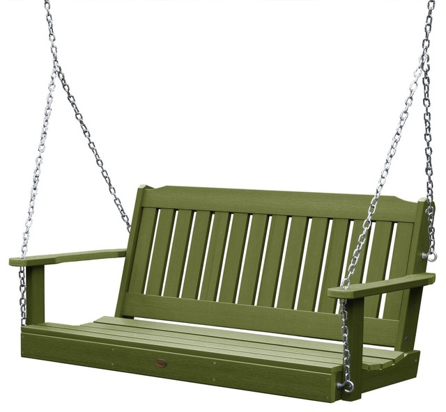 Lehigh Porch Swing Contemporary Porch Swings By Highwood