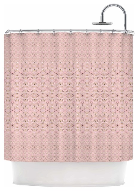 Carolyn Greifeld Modern Shabby Shower Curtain
