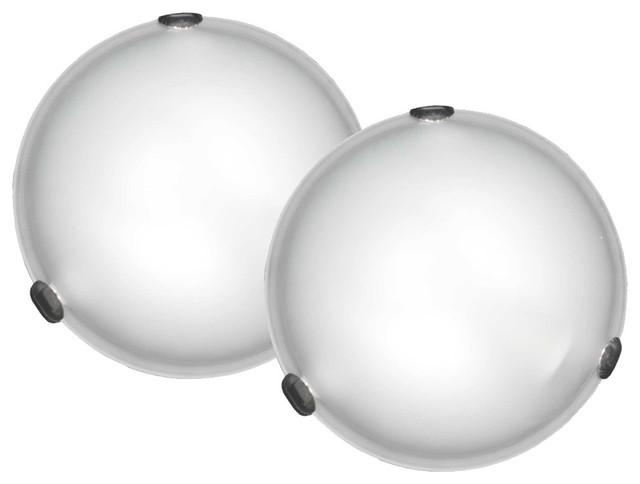 Murray 1-Light Flush Mount Twin Pack.