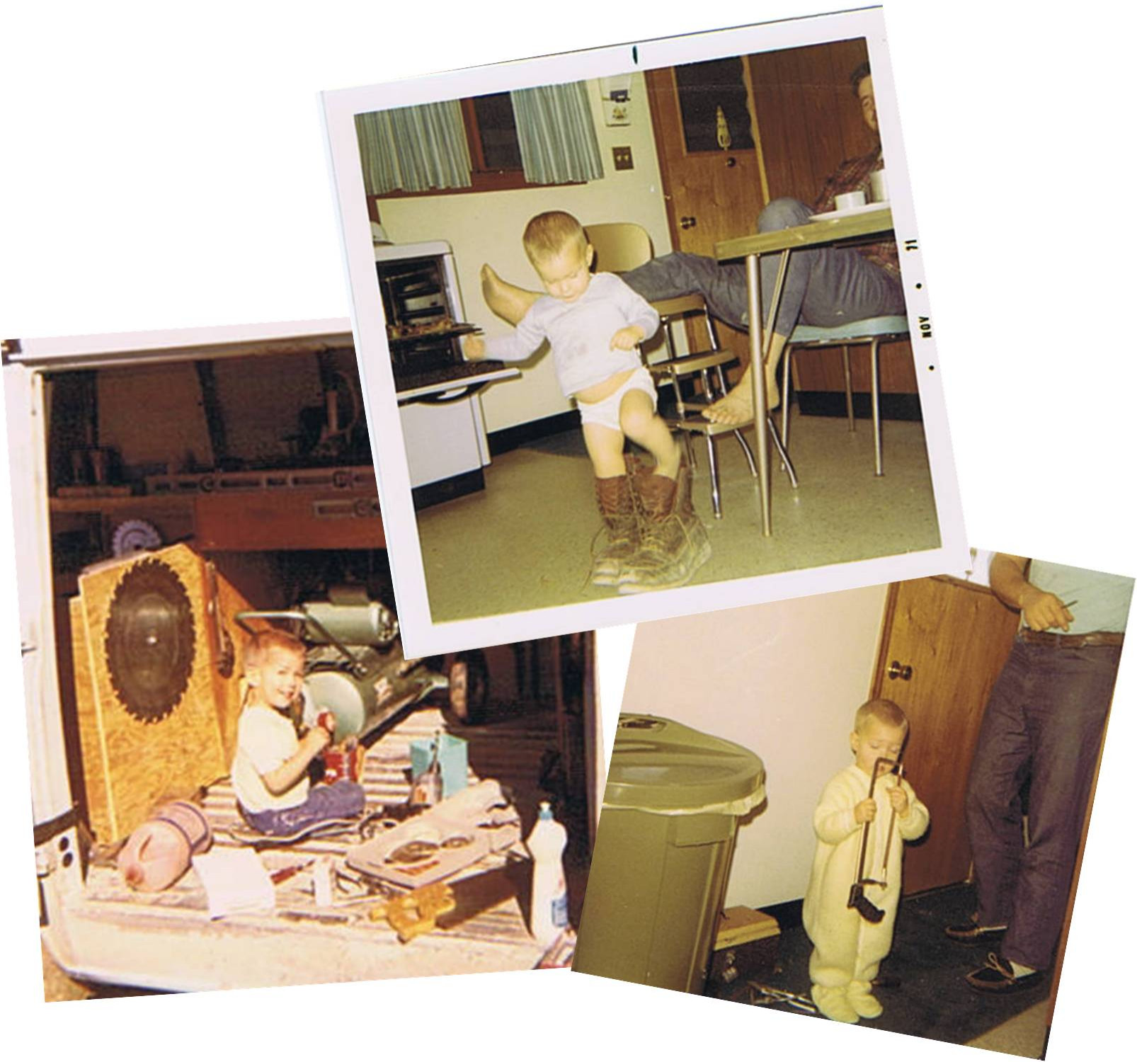 Michael is the 3rd generation of carpenters in his family!