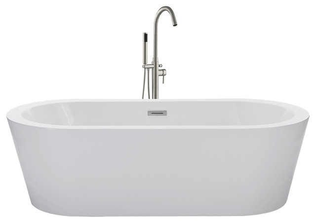 freestanding bath tub. woodbridge - oslo soaking tub bathtubs freestanding bath
