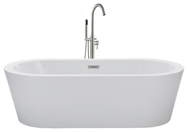 Woodbridge   Woodbridge 67u0027u0027 Freestanding Bathtub Contemporary Soaking Tub    Bathtubs