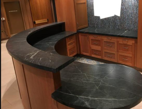 Marble Office Lobby