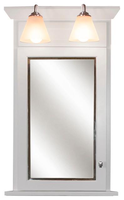 Woodpro Corner Medicine Cabinet, Limited Lifetime Warranty - Transitional - Cabinet And Drawer ...