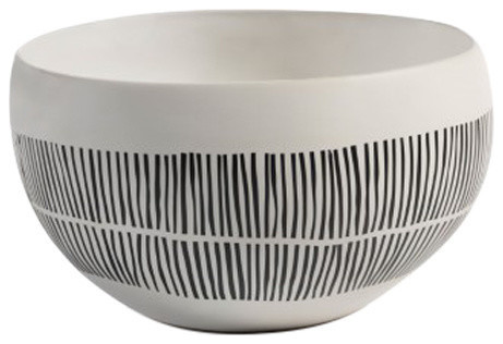 """Marquesa"" 10.5"" Diameter Ceramic Decorative Bowl"