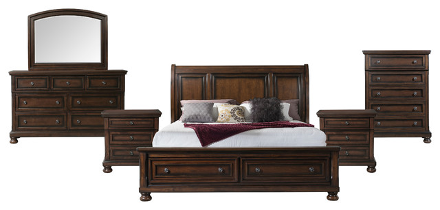 Picket House Furnishings Kingsley 6 Piece King Storage Bedroom Set