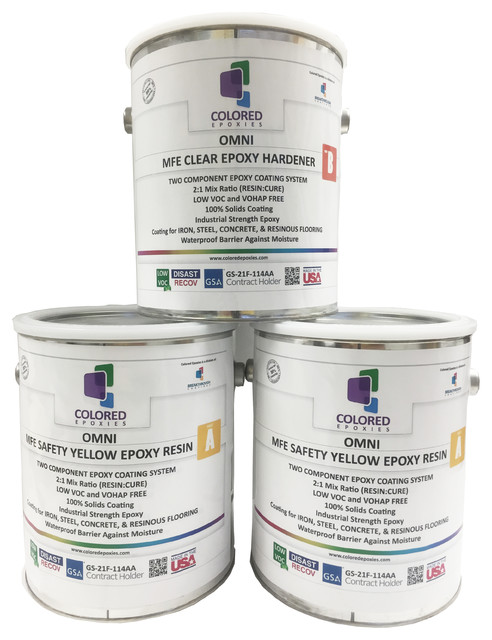 Epoxy Paint 2 1 Part For Garage Floor Basement Concrete