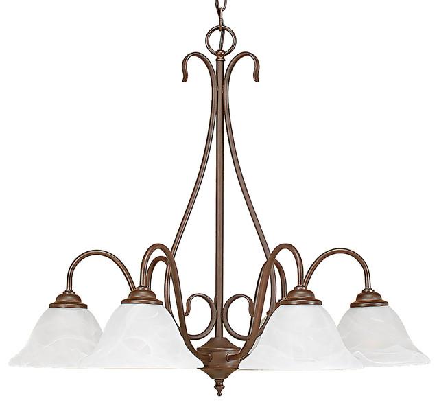 Millennium Lighting Chandelier, Bronze