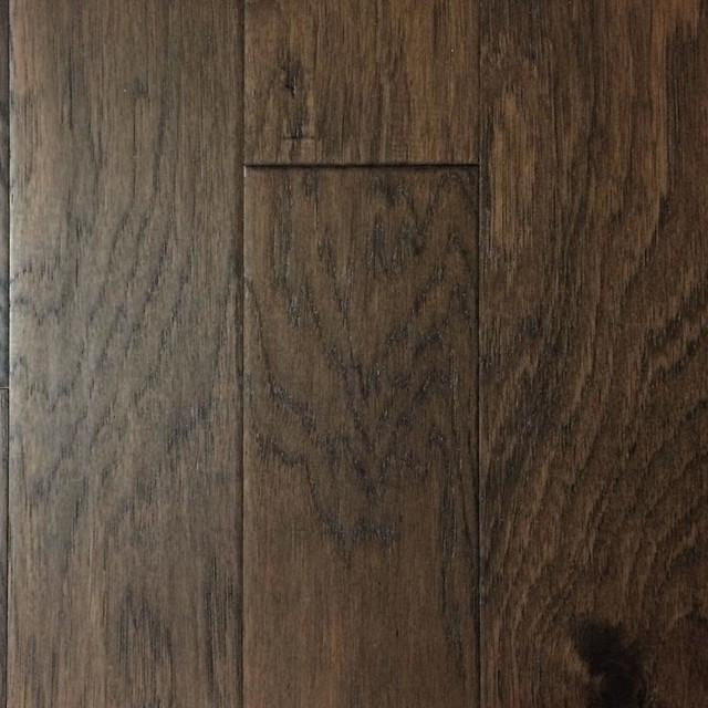39.86 Sq. Ft. Handscraped Hickory Engineered Hardwood Floor, Sonoma.