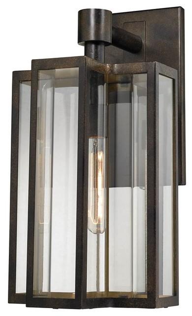 Light Outdoor Sconce, Hazelnut Bronze.