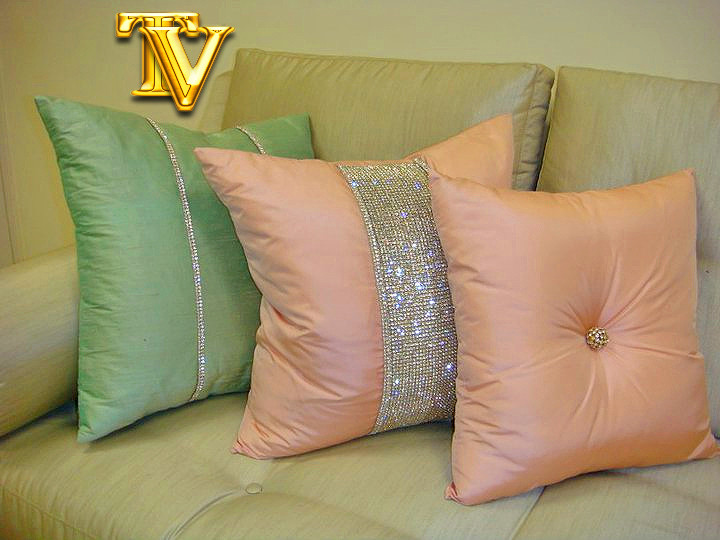 Bling Pillow, Diamante Collection
