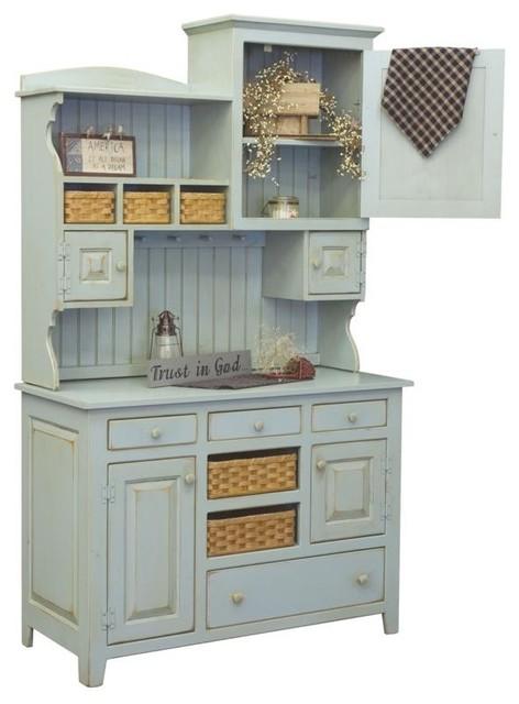 Chelsea Home Furniture - Annies 2-Piece Hutch, 465-002-2TBMC ...