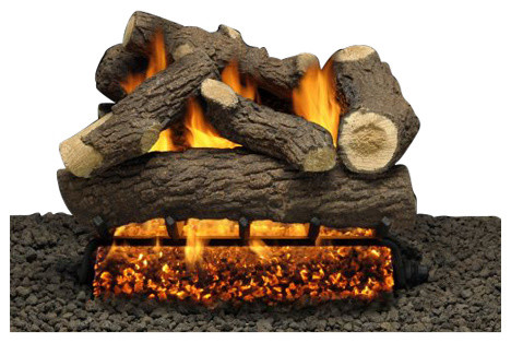 "Napoleon 27"" Built-In Electric Fireplace Multi-Function Remote Realistic Logs"