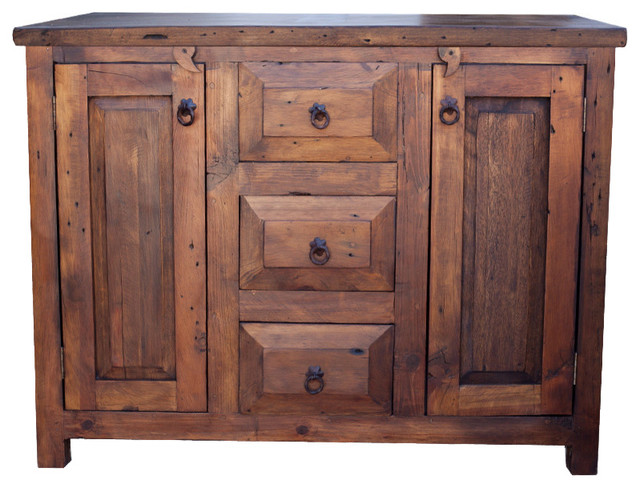 Awesome Rustic Bathroom Vanities And Sink Consoles by FoxDen Decor